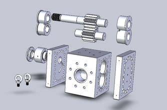 Why do you want to develop domestic specifications of the biggest melt gear pump?