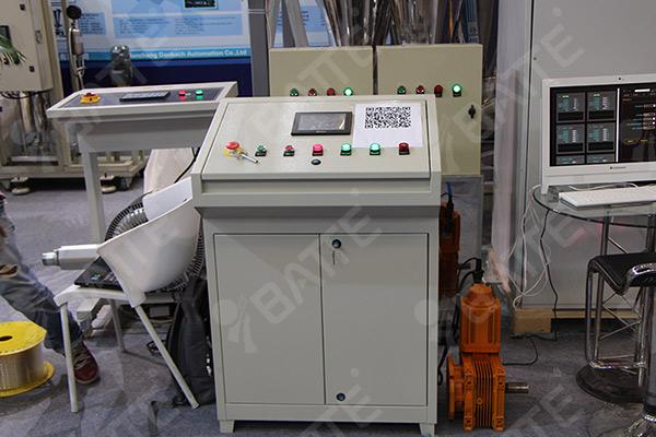 high temperature melt pump control system