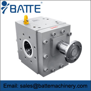 melt pump (gear pump)