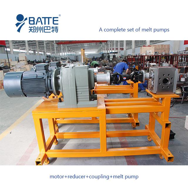 chemical melt gear pump manufacturer