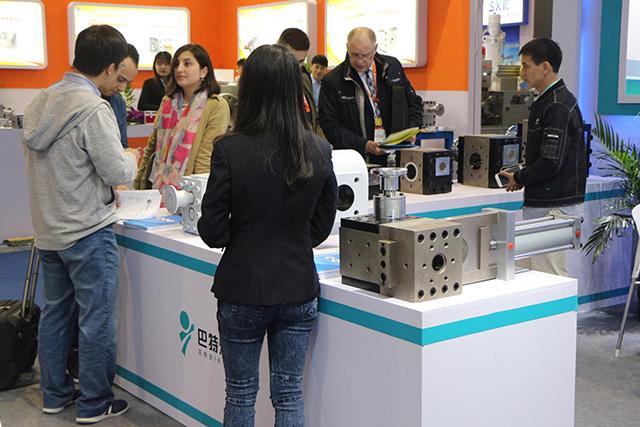 hot high pressure polymer melt metering gear pump
