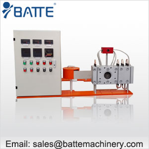 Automatic belt screen changer