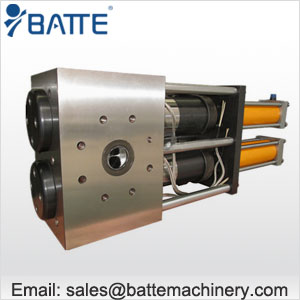 double piston large capacity screen  changer
